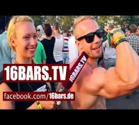 """Wer ist der """"King Of Rap""""? Unterwegs beim """"Out4Fame""""-Festival (16BARS.TV)"""