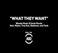 """What They Want"" - Wonda Music & Uncle Murda feat. Maino, Troy Ave, Raekwon, Tank - ADD EXCLUSIVE!"