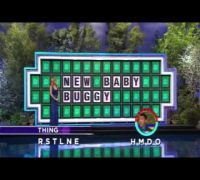 Wheel of Fortune: Wheel Of Fortune Contestant Guesses Puzzle With Just TWO Letters