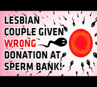 White Lesbian Couple Given Black Man's Sperm by Mistake!
