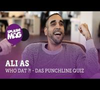 WHO DAT?! Ali As im Punchline Quiz mit Cam'Ron, Kid Kobra  & Money Boy (splash! Mag TV)