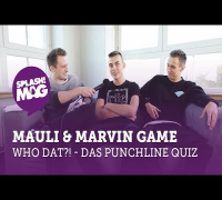 WHO DAT?! - Mauli & Marvin Game im Punchlinequiz  (splash! Mag TV)