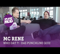 WHO DAT?! – MC Rene im Punchline-Quiz (splash! Mag TV)
