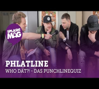 WHO DAT?! – Phlatline im Punchline-Quiz (splash! Mag TV)