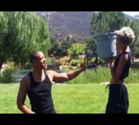 Will Smith ALS Ice Bucket Challenge! (Nominates JAY Z & Beyonce!) (HD)