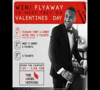Win a chance to Meet Trey on Valentine's Day!