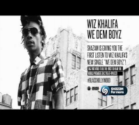 "Wiz Khalifa ""We Dem Boyz"" Premiere on Shazam"