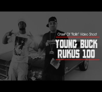 "Young Buck Onset Of ""Rollin"" Video Shoot With Rukus 100 [BTS]"