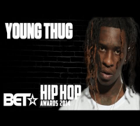 Young Thug Talks 2014 BET Hip-Hop Award Nominations & Rich Homie Quan Sneaks Up