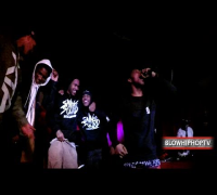 "YUNG GLEESH ""PLEASE"" LIVE @ THE DELANCEY NYC: BLOWHIPHOPTV"