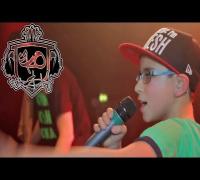 Zehnjähriger rappt Part bei MoTrip Show