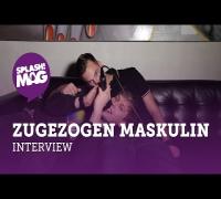 """Zugezogen Maskulin über """"Alles Brennt"""", politischen Rap & die Tour mit Kraftklub (splash! Mag TV)"""