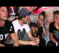 Zugezogen Maskulin und Antilopen Gang  im Interview (splash! 17)